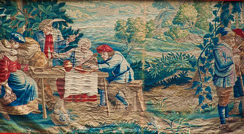 祇園祭 白楽天山 タペストリー