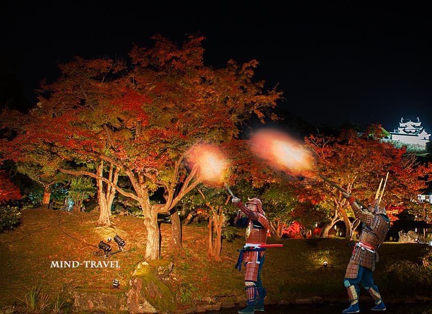 彦根鉄砲隊 彦根城2