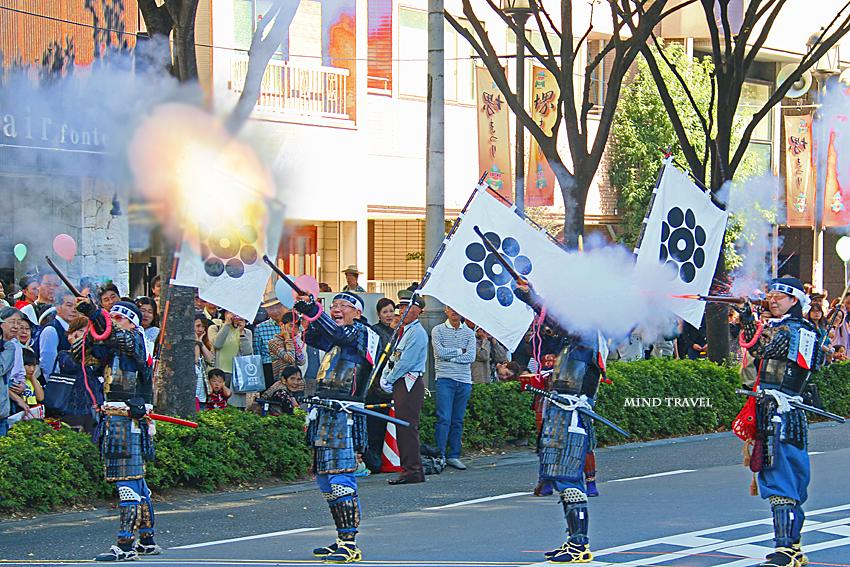堺祭 岩国藩鉄砲隊