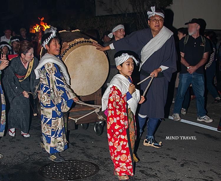 鞍馬の火祭 太鼓