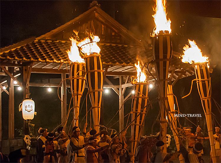 鞍馬の火祭 お旅所