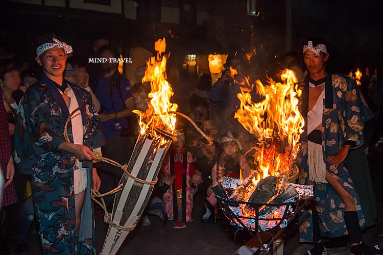 鞍馬の火祭6