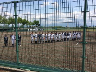 第134回北信越地区高等学校野球新潟県大会 1日目