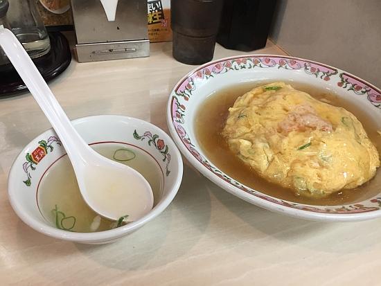 餃子の王将、天津炒飯