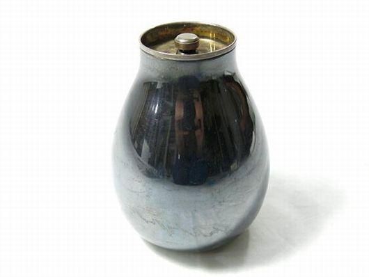 純銀 茶入 煎茶道具