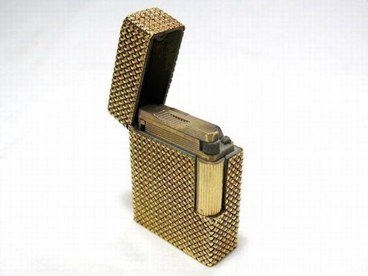 デュポン ゴールド ガスライター