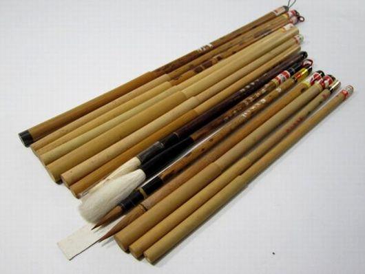 古い筆 中国 まとめて14本