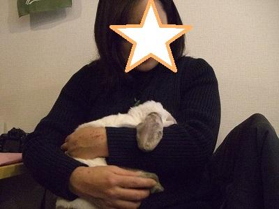 yukoさん抱っこ3