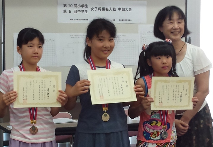 2016-7-16第10回小学生女子将棋名人戦中部大会