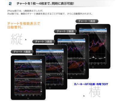 ヒロセ通商iPad4分割