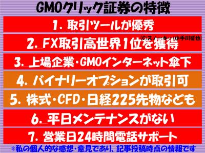 GMOクリック証券FXの評判と特徴2016