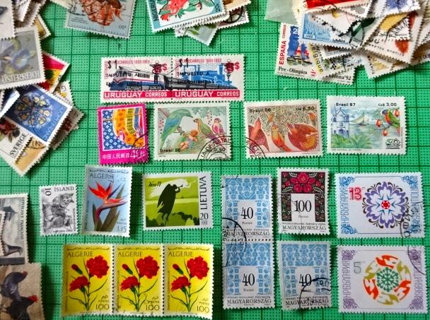 切手9-16整理中