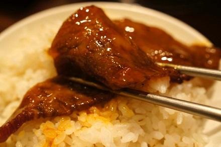 ご飯と焼肉