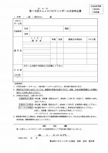 3on3申込書H28