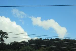 神戸へ向かう雲2