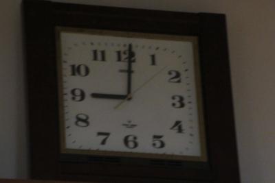清川の時計