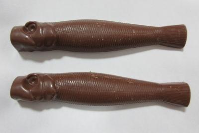 魚型チョコレート