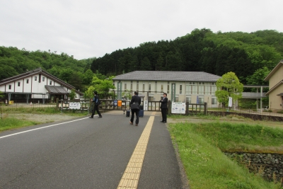 コウノトリの郷公園と文化館
