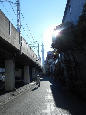 京成曳舟界隈
