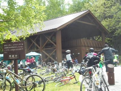 緑駆け抜ける自転車イベント