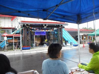 川湯駅前ロックコンサート