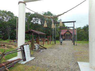 川湯神社ご神木倒れる