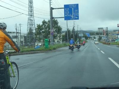 雨にも負けない自転車部隊