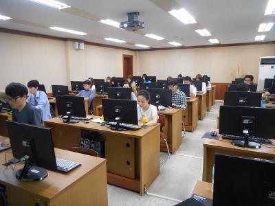 韓国外大で授業