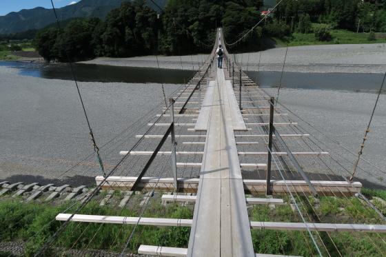 塩郷の吊橋7