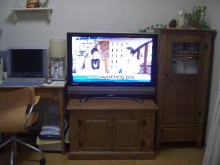 テレビの側