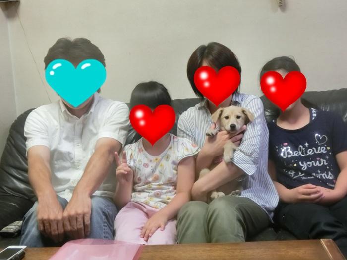 タママ 家族写真