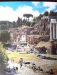 ユリウス・カエサル神殿と双子神神殿 現代