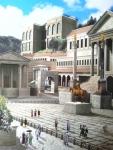 ユリウス・カエサル神殿と双子神神殿 古代