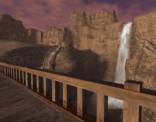 臥竜の滝は絶好のスポット
