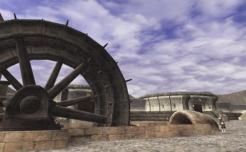 大工房の水車