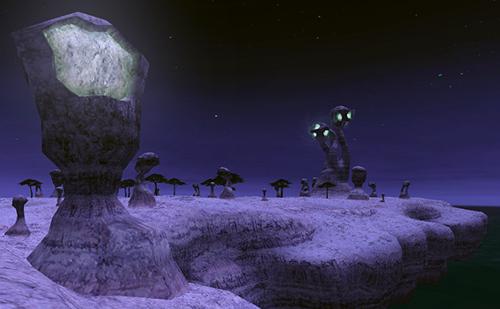奇岩の数々