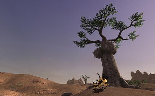 この木を見るとドキっとする