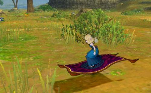 魔法のじゅうたんゲット