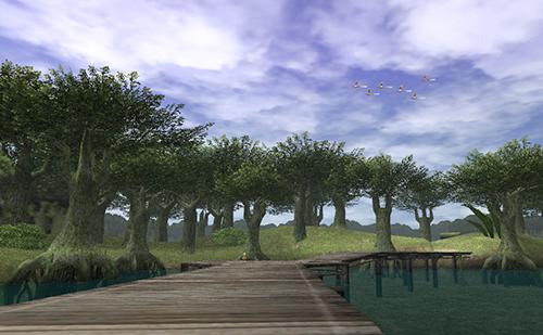 ウィンダスは緑と水の国