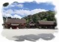 青が映える上賀茂神社