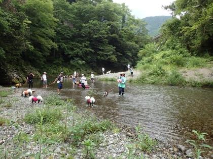川遊び23