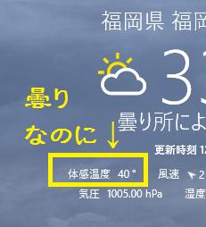 福岡市の気温