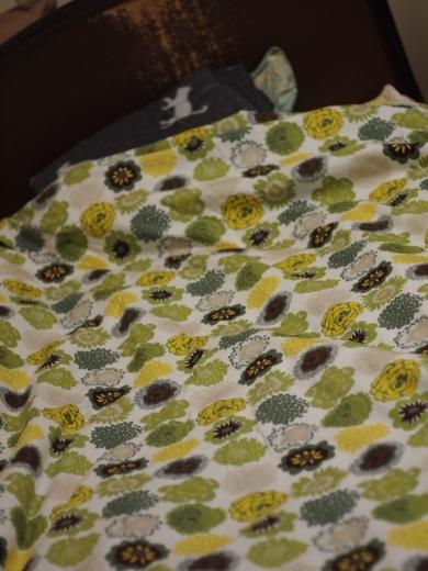 自作の布団カバー