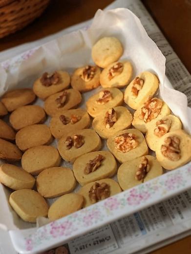 クルミのバタークッキー