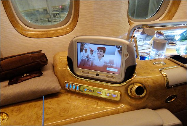 座席ドバイ→チューリッヒ10