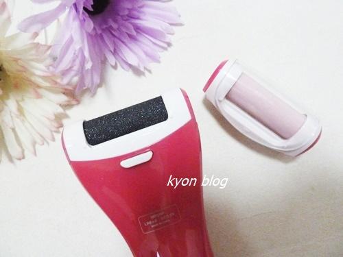 Salon FOOT 電動角質リムーバー