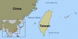 china-taiwan-台湾中国地図