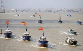 2012尖閣 浙江省 中国漁船