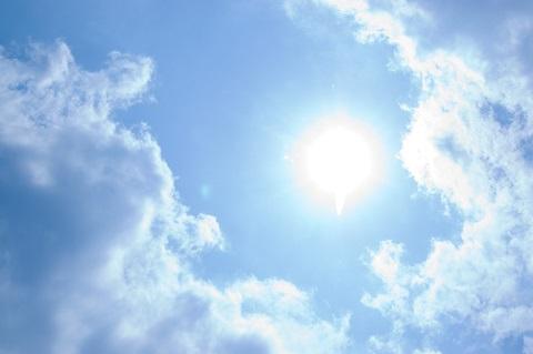 160421 空と太陽