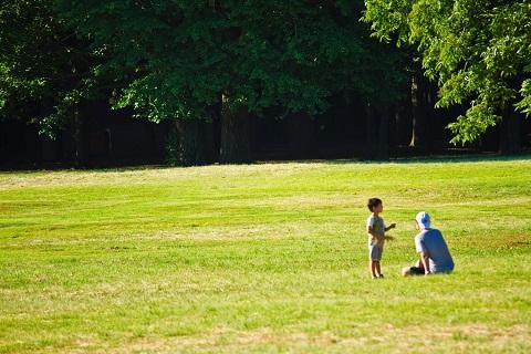 160512 公園の親子